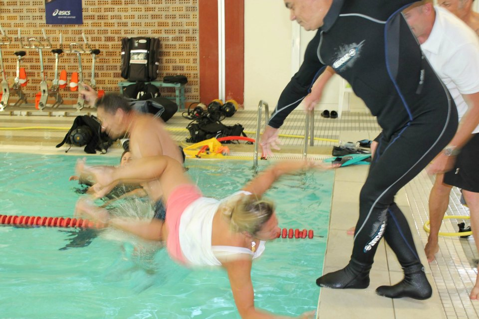 CSA EMD - Section Plongée - Journée Bapêmes à la piscine du Club